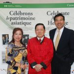 联邦参议员胡子修在亚裔文化节合影