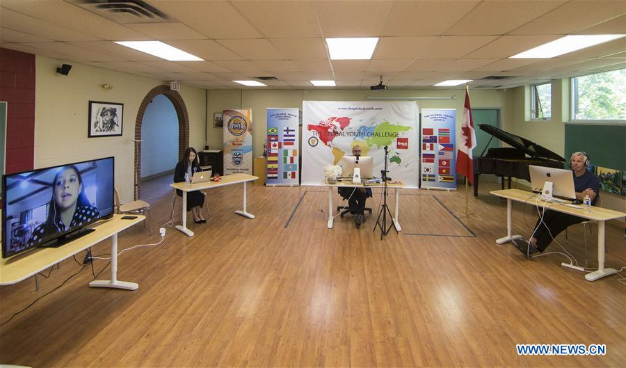 CANADA-ONTARIO-MISSISSAUGA-COVID-19-VIDEO SPEECH COMPETITION
